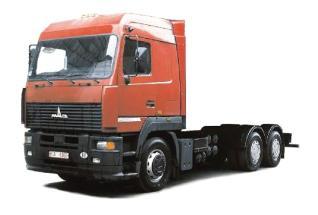 Автомобиль МАЗ 631208-040-012 Колесная формула 6x4 Техническая характеристика