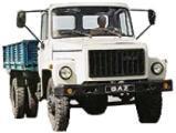 Автомобиль ГАЗ 3306 Колесная формула 4x2 Техническая характеристика
