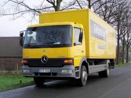 Автомобиль Mercedes-Benz Atego 1517 L 4760 Колесная формула 4x2 Техническая характеристика