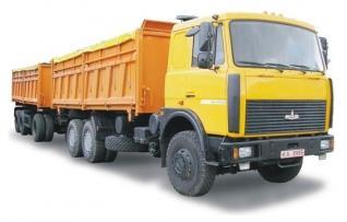 Автомобиль МАЗ 551608-236 Колесная формула 6x4 Техническая характеристика