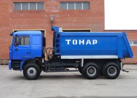 Автомобиль ТОНАР 6528 Колесная формула 6x4 Техническая характеристика