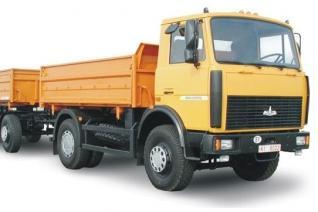 Автомобиль  555102-225 Колесная формула 4x2 Техническая характеристика