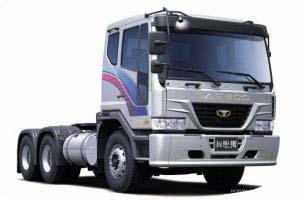 Автомобиль Daewoo Doosan V3TVF Колесная формула 6x4 Техническая характеристика