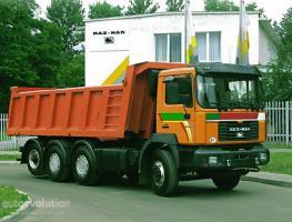 Автомобиль МАЗ-MAN 731268 Колесная формула 8x4 Техническая характеристика