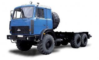 Автомобиль МАЗ 631705-261,263 Колесная формула 6x6 Техническая характеристика