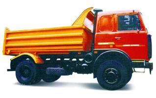 Автомобиль  555102-233 Колесная формула 4x2 Техническая характеристика