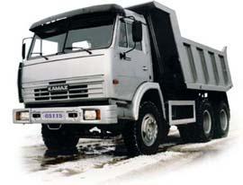 Автомобиль КАМАЗ 65115 Колесная формула 6x4 Техническая характеристика