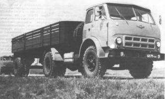 Автомобиль МАЗ 504A Колесная формула 4x2 Техническая характеристика