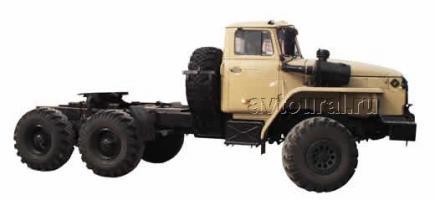 Автомобиль Урал 44202-0311-31 Колесная формула  Техническая характеристика