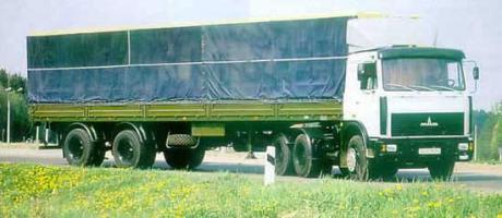 Автомобиль  64221,64224 Колесная формула 6x4 Техническая характеристика
