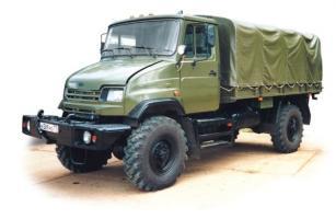 Автомобиль ЗиЛ 43272Н Колесная формула 4x4 Техническая характеристика