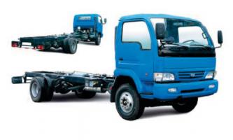 Автомобиль YUEJIN NJ1080DAW Колесная формула 4x2 Техническая характеристика