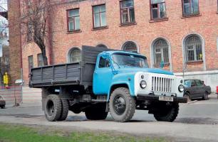 Автомобиль ГАЗ 53 Колесная формула 4x2 Техническая характеристика