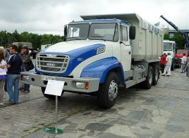 Автомобиль КрАЗ С18-020 Колесная формула 6x4 Техническая характеристика