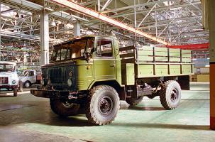 Автомобиль ГАЗ 66 Колесная формула 4x4 Техническая характеристика