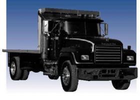 Автомобиль Mack  RD600P Колесная формула 4x2 Техническая характеристика