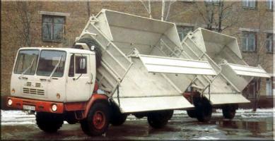 Автомобиль КАЗ 4540 Колесная формула 4x4 Техническая характеристика