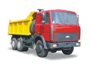 Автомобиль  551605-230,-280 Колесная формула 6x4 Техническая характеристика