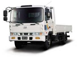 Автомобиль Hyundai HD-120 Колесная формула 4x2 Техническая характеристика