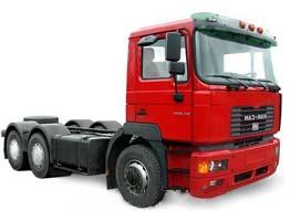 Автомобиль МАЗ-MAN 631268 Колесная формула 6x4 Техническая характеристика