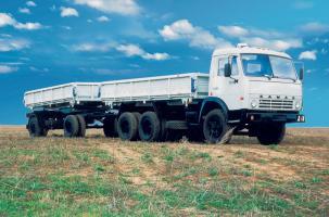 Автомобиль КАМАЗ 55102 Колесная формула 6x4 Техническая характеристика