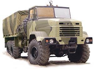 Автомобиль КрАЗ 6322 Колесная формула 6x6 Техническая характеристика