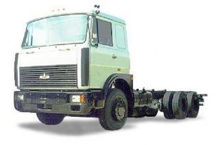 Автомобиль МАЗ 630308-243 Колесная формула 6x4 Техническая характеристика