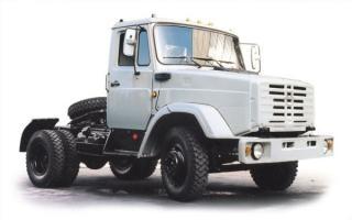 Автомобиль ЗиЛ 442160 Колесная формула 4x2 Техническая характеристика