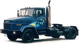 Автомобиль КрАЗ 5444 Колесная формула 4x2 Техническая характеристика
