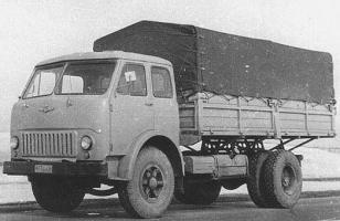 Автомобиль МАЗ 500A Колесная формула 4x2 Техническая характеристика