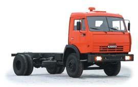 Автомобиль КАМАЗ 43253 Колесная формула 4x2 Техническая характеристика