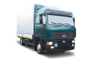 Автомобиль МАЗ 534008-020 Колесная формула 4х2 Техническая характеристика