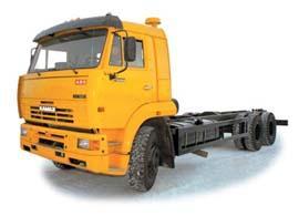 Автомобиль КАМАЗ 65117 Колесная формула 6x4 Техническая характеристика