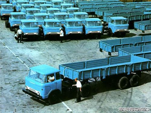 Колхиды 606 на заводской площадке