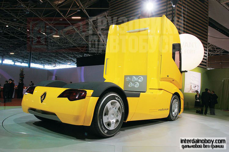 Новый Renault. Грузовики Рено