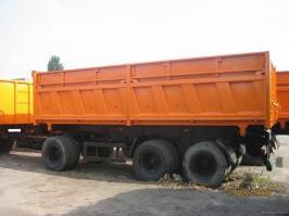 Прицепы МАЗ 856102-010. Техническая характеристика