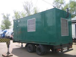 Прицеп ЦТТМ 87160G. Техническая характеристика