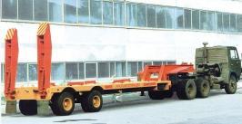 Прицеп Уралавтоприцеп ЧМЗАП 93853-0000013. Техническая характеристика