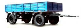 Прицепы МАЗ 892600-017-02. Техническая характеристика