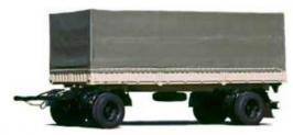 Прицеп КРАЗ А181В2. Техническая характеристика