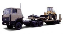 Прицеп МАЗ 3PP55. Техническая характеристика