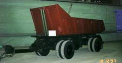Прицеп Уралавтоприцеп ЧМЗАП 855410. Техническая характеристика