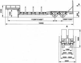Прицеп НПФ Спецмаш 935024. Техническая характеристика