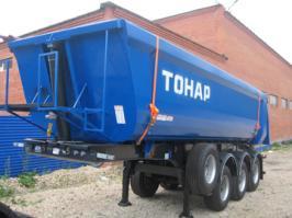 Прицеп Тонар 95231. Техническая характеристика
