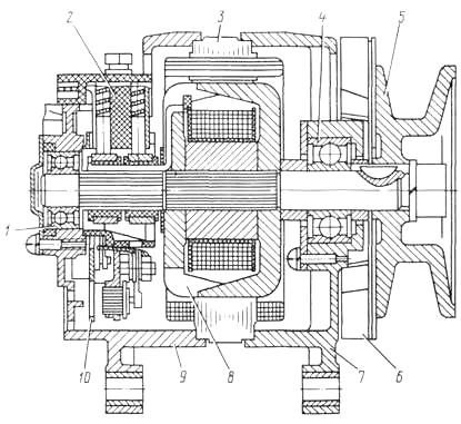 принципиальная схема варочной панели