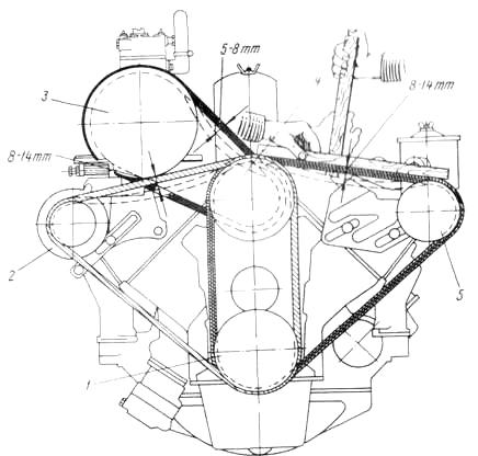 зил бычок электрическая схема
