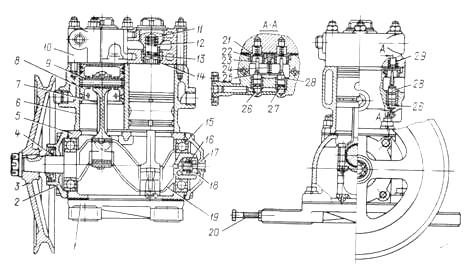 Рис. 59. Воздушный компрессор