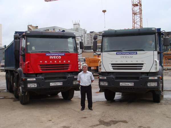 Компания ТПК Инфо поставила крупные партии автомобилей Iveco