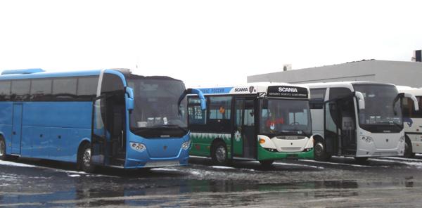 Scania: Фестиваль автобусов – первый опыт