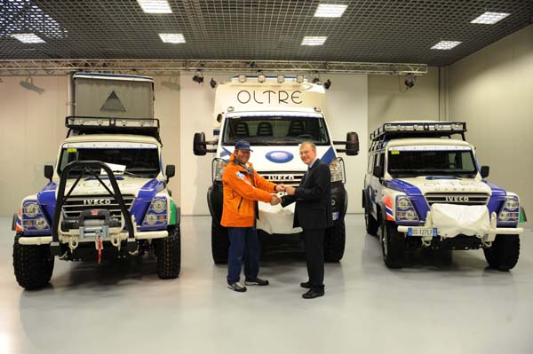 Iveco привела экспедицию «Oltre 2008» («За пределами возможного 2008») в предстартовую готовность
